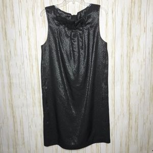 Vince. Sleeveless Shimmer Party Dress with Pockets
